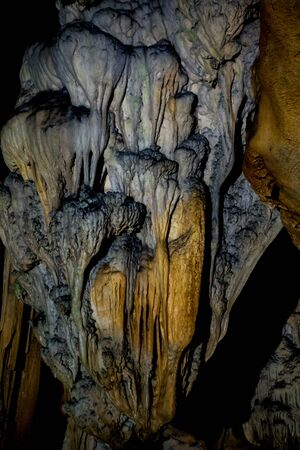 Stalactites inside chiang dao cave