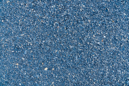 Blue granite gravel used in construction