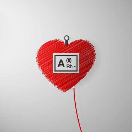 transfuse: World blood donor day. Poster for 14 June. Illustration
