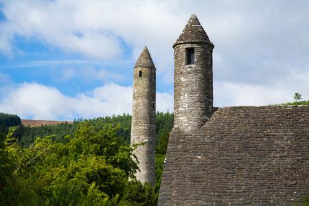 monastic: Glendalough Monastic Settlement, Ireland