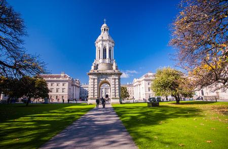 college campus: Trinity College Dublin