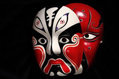 chinese opera: Chinese opera masks