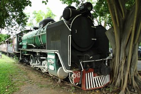 Thai old train photo