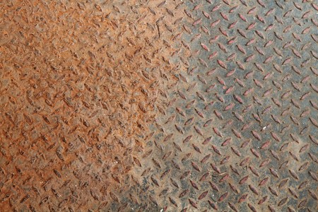 rust: Old metal plate  Stock Photo