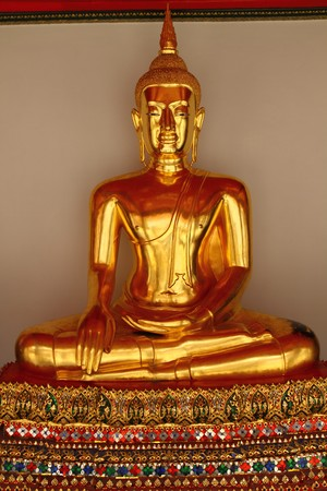 golden buddha image Stock Photo - 8646982