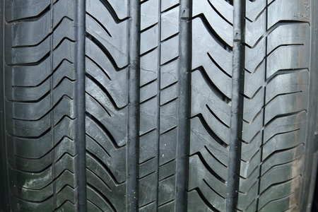 Car Tire texture photo