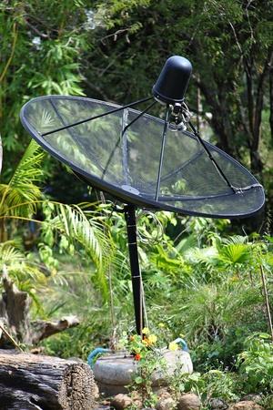 satelite: satelite dish