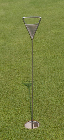 two and two thirds: PuttingGreen and Hole Flag for Practice