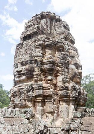 Angkor thom,  Siem reap, Cambodia Standard-Bild - 144221380