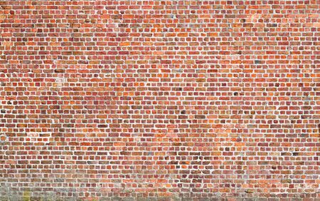 Old Brick wall background texture.