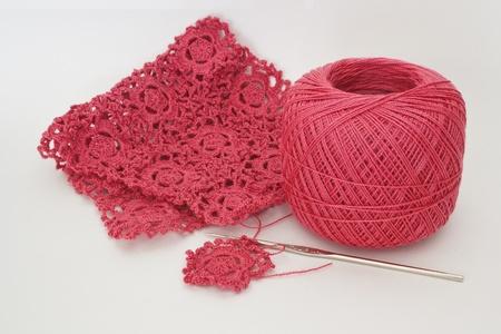 avocation: Pink crochet
