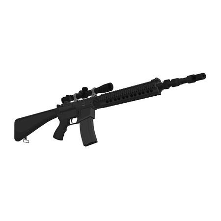 ar: mk12mod1 Special Purpose Rifle