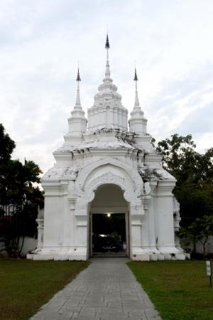 Gate Wat Suan Dok, Bub pha ram , Chiangmai