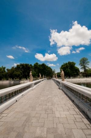 walk way at Bangprain palace Stock Photo - 13754241
