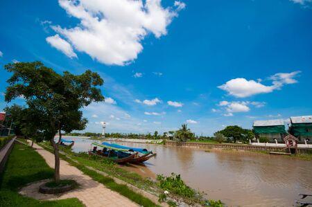 ayuthaya: Jao Phraya river at Ayuthaya
