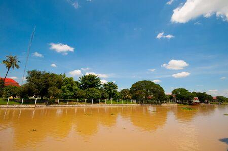 ayuthaya: Chao Phraya river at Ayuthaya