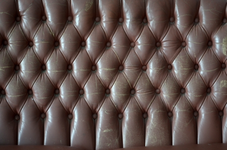 Leather upholstery of a magnificent sofa  Stock Photo - 13924875