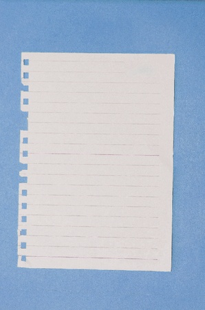 Note paper  photo