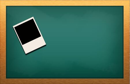 blank blackboard  photo