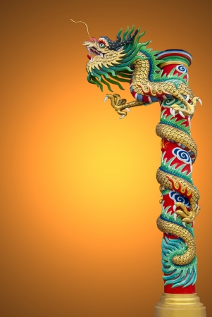 Chinese style dragon statue Stock Photo - 14507783