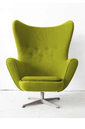 Isolated Stylish Chair Stock Photo - 15030048