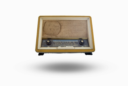 Old radio from 1950 and the years   photo