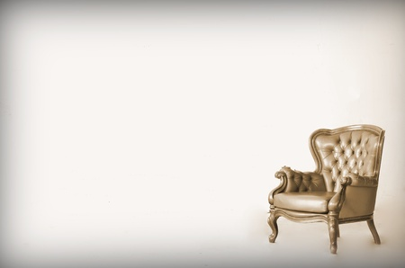 Luxurious armchair  Stock Photo
