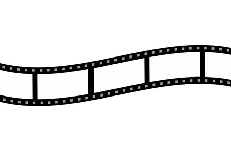 blank film strip  photo