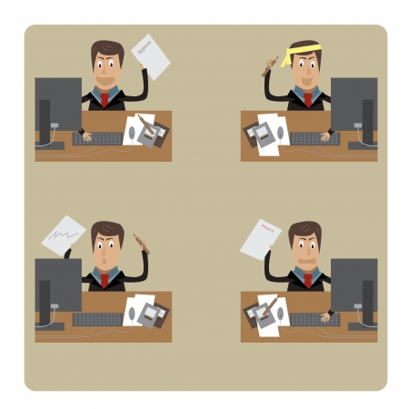business man Stock Vector - 17311805