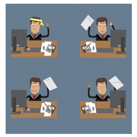 business man Stock Vector - 17311806