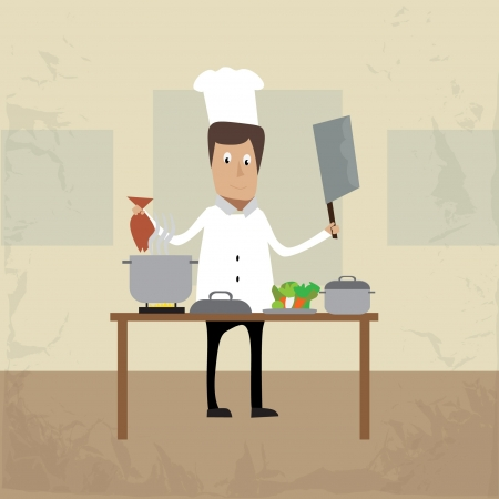 chef illustration character