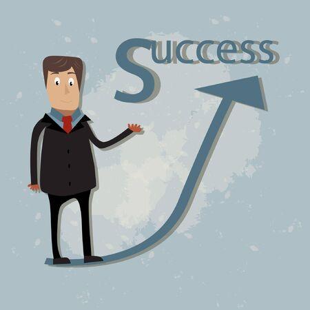businessman concept  Vector illustration Stock Vector - 17719706