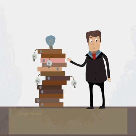 businessman concept illustration Stock Vector - 17719673