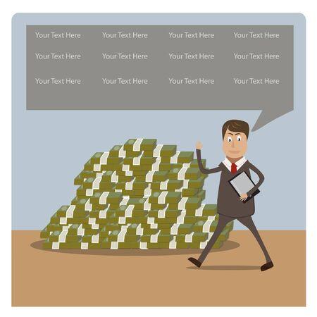 businessman concept illustration Stock Vector - 17719633
