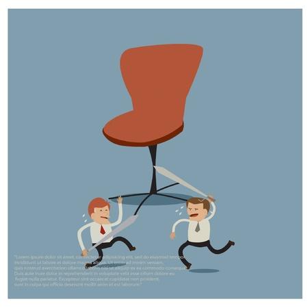 businesslike: business idea Illustration