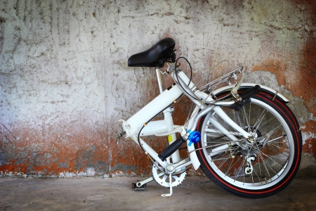 Alluminium folding bicycle