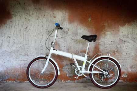 Alluminium folding bicycle