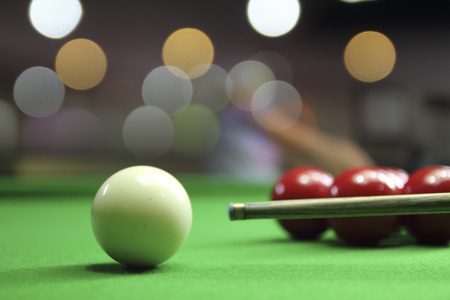 Snooker player Stockfoto