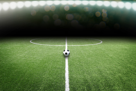 サッカー フィールド 写真素材 - 38809885