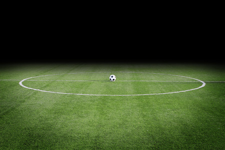 lay out: soccer field