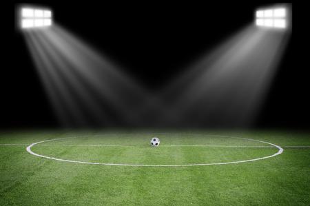 campo di calcio: campo da calcio Archivio Fotografico