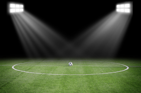 soccer field Stock Photo - 39697591