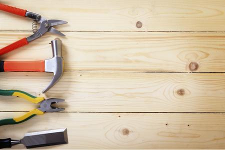 tool renovation on wood