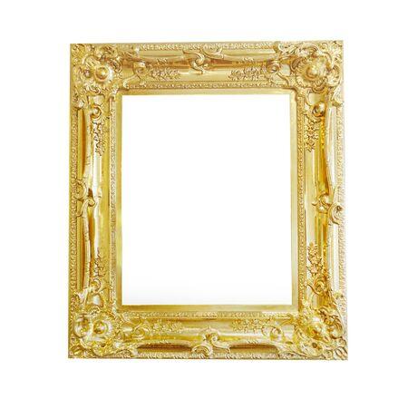 白い背景に分離されたビンテージ木造 写真素材 - 75678395