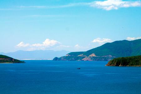 Scenic seaview in Vietnam Stock Photo