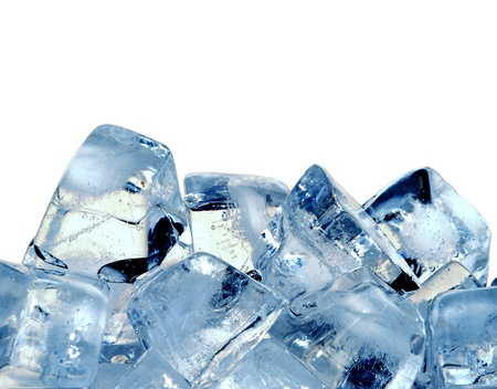 water cooler: ice cubes