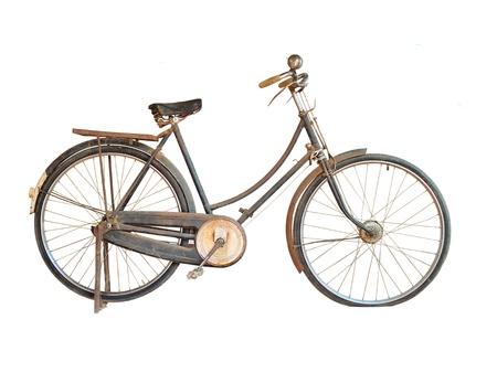 antique bicycle  Stock Photo