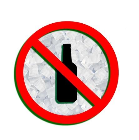 security token: No alcohol sign  Stock Photo