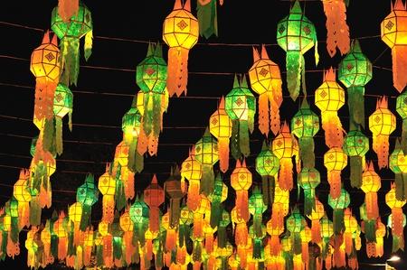 Festival des lanternes ou fête yeepeng Banque d'images - 11399855