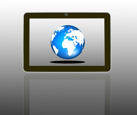 Tablet Computer  Stock Photo - 11721097